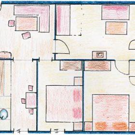 Zimmeraufteilung